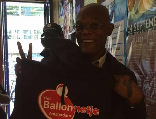Samuel L Jackson stopped by at Het Ballonnetje